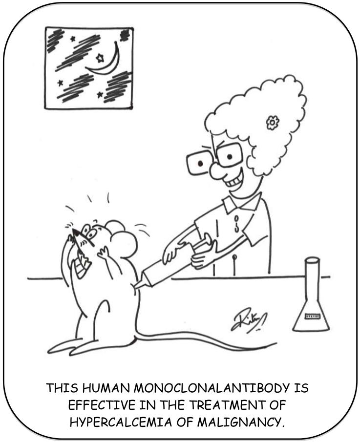 hypercalcemia jumble cartoon