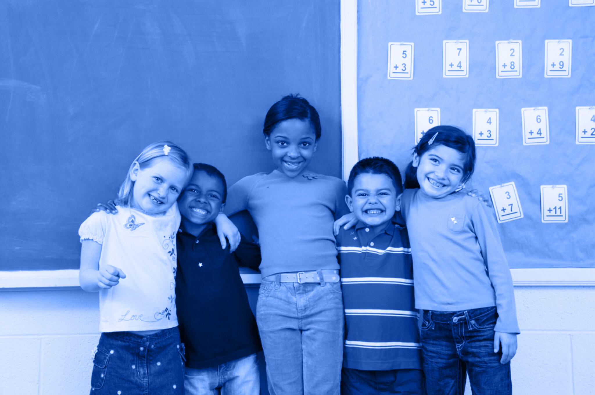 happy children tinted