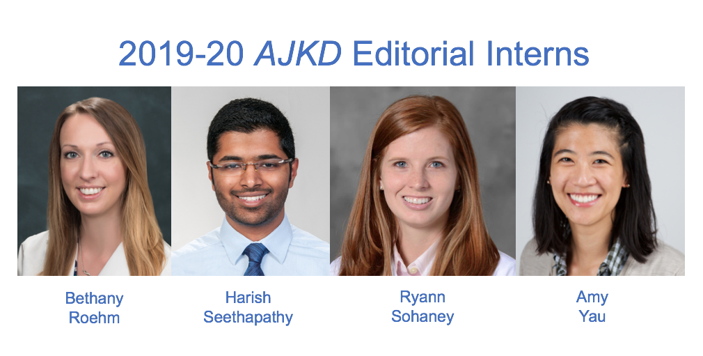 2019 Editorial Interns